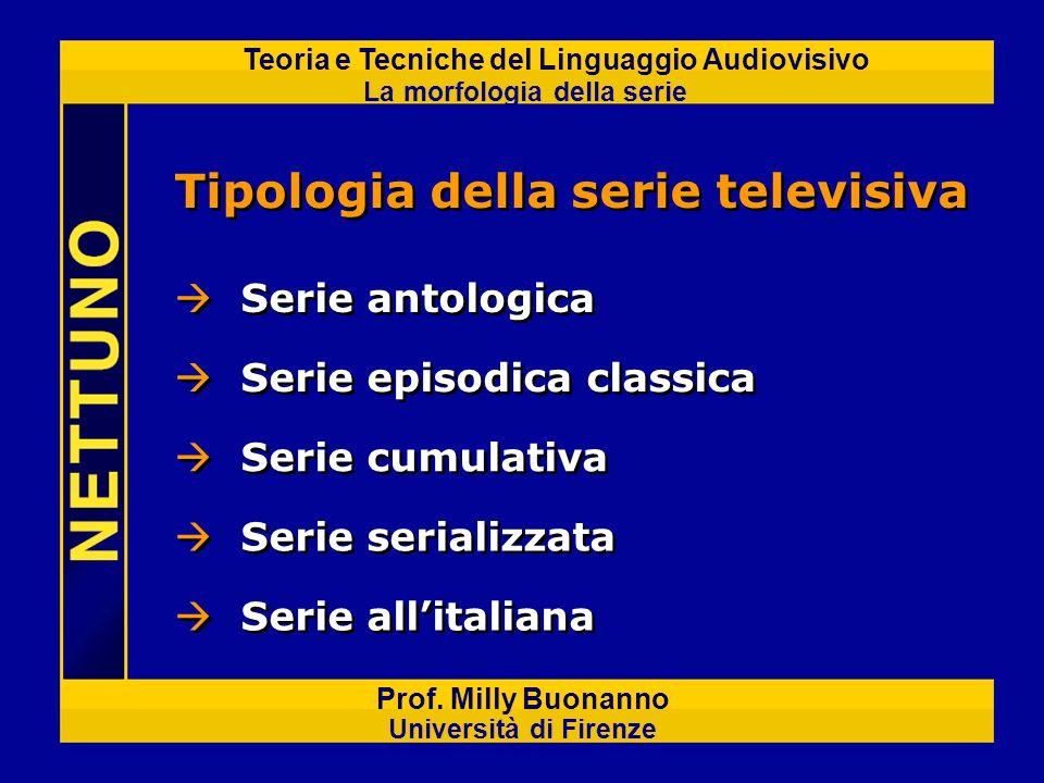 Tipologia della serie televisiva