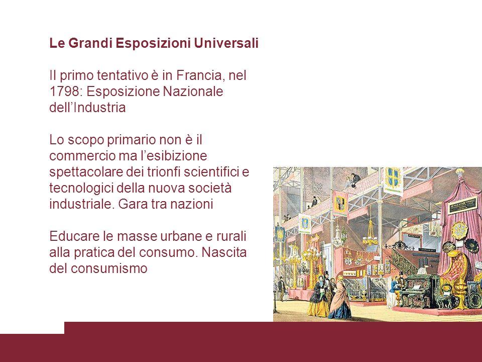 Le Grandi Esposizioni Universali
