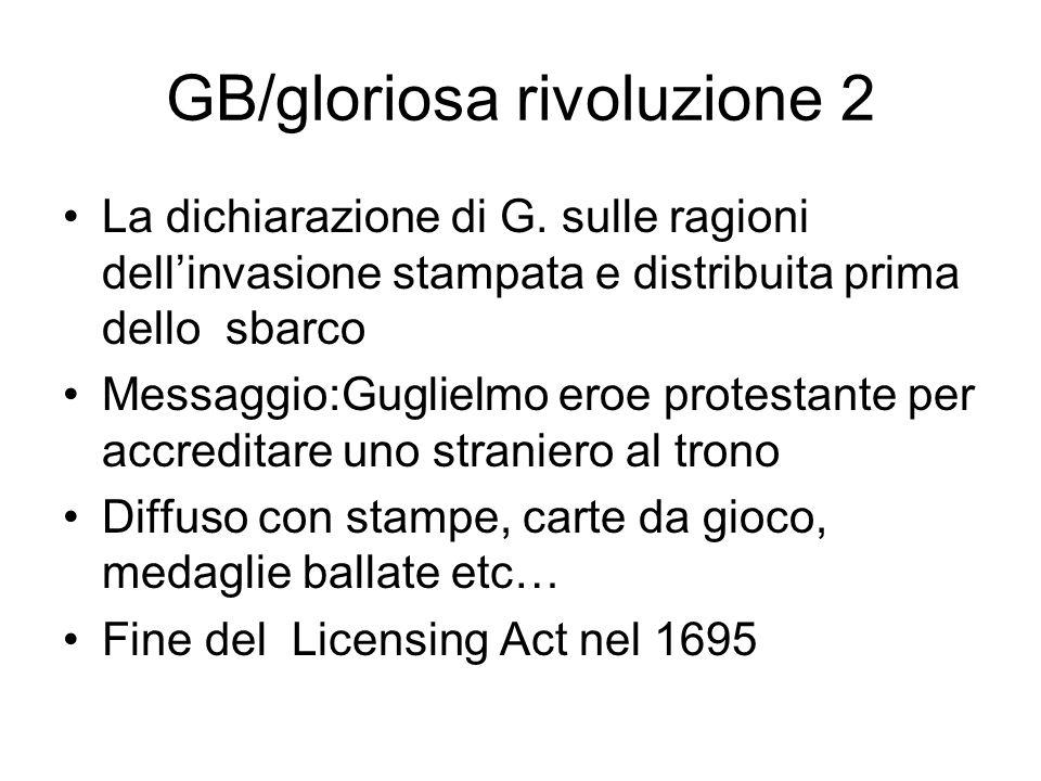 GB/gloriosa rivoluzione 2