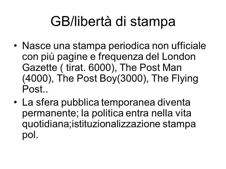 GB/libertà di stampa