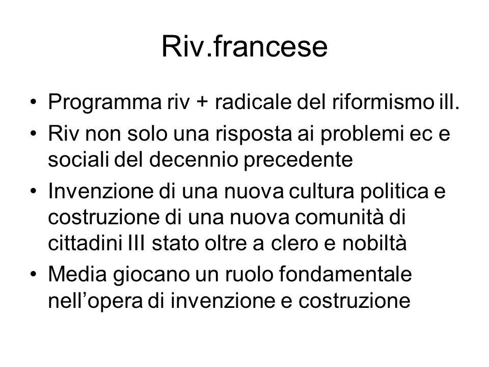 Riv.francese Programma riv + radicale del riformismo ill.