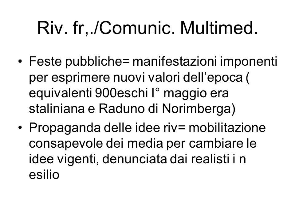 Riv. fr,./Comunic. Multimed.
