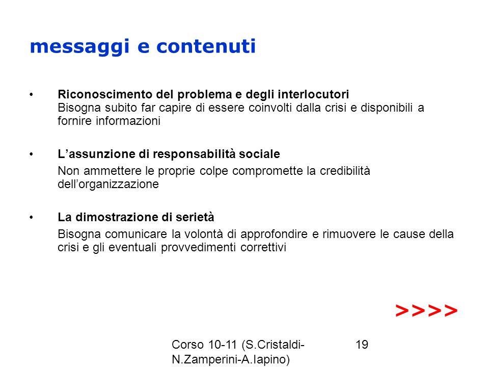messaggi e contenuti >>>>