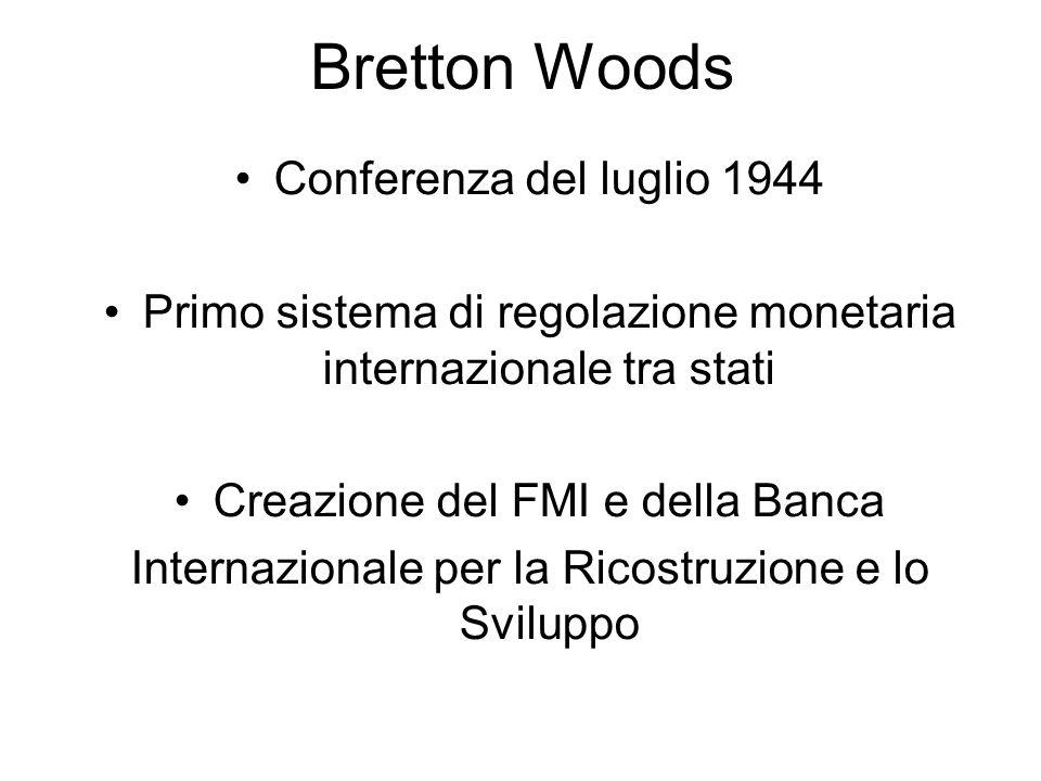 Bretton Woods Conferenza del luglio 1944