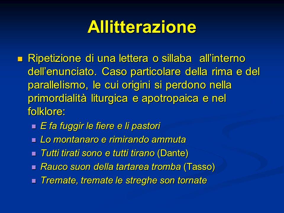 Allitterazione