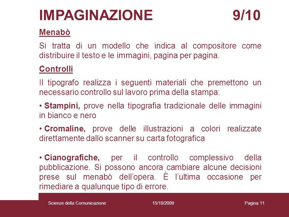 IMPAGINAZIONE 9/10 Menabò