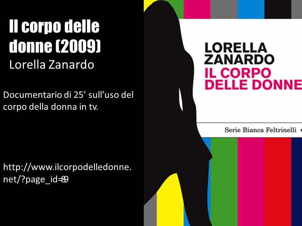 Il corpo delle donne (2009) Lorella Zanardo