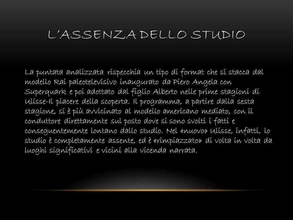 L'ASSENZA DELLO STUDIO