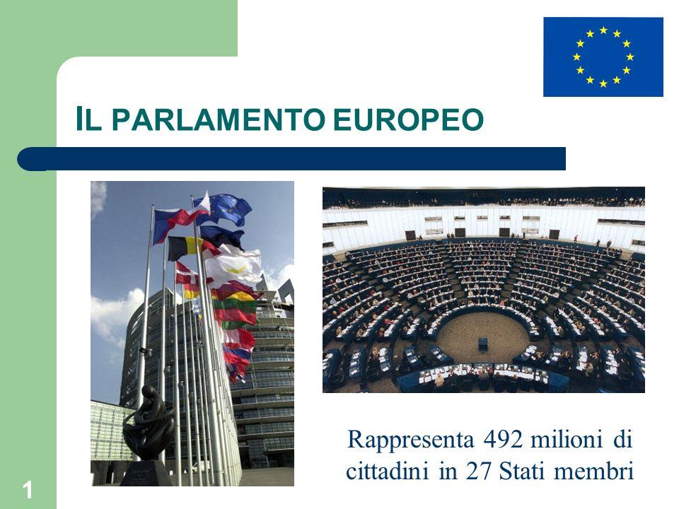 Rappresenta 492 milioni di cittadini in 27 Stati membri