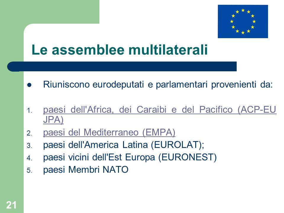 Le assemblee multilaterali