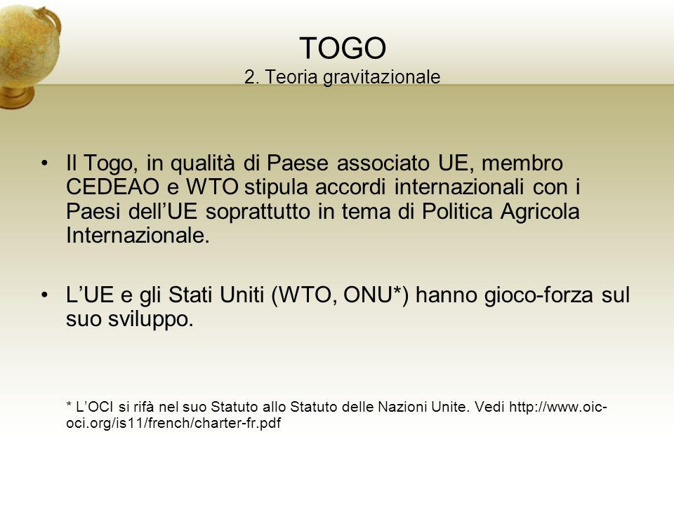 TOGO 2. Teoria gravitazionale