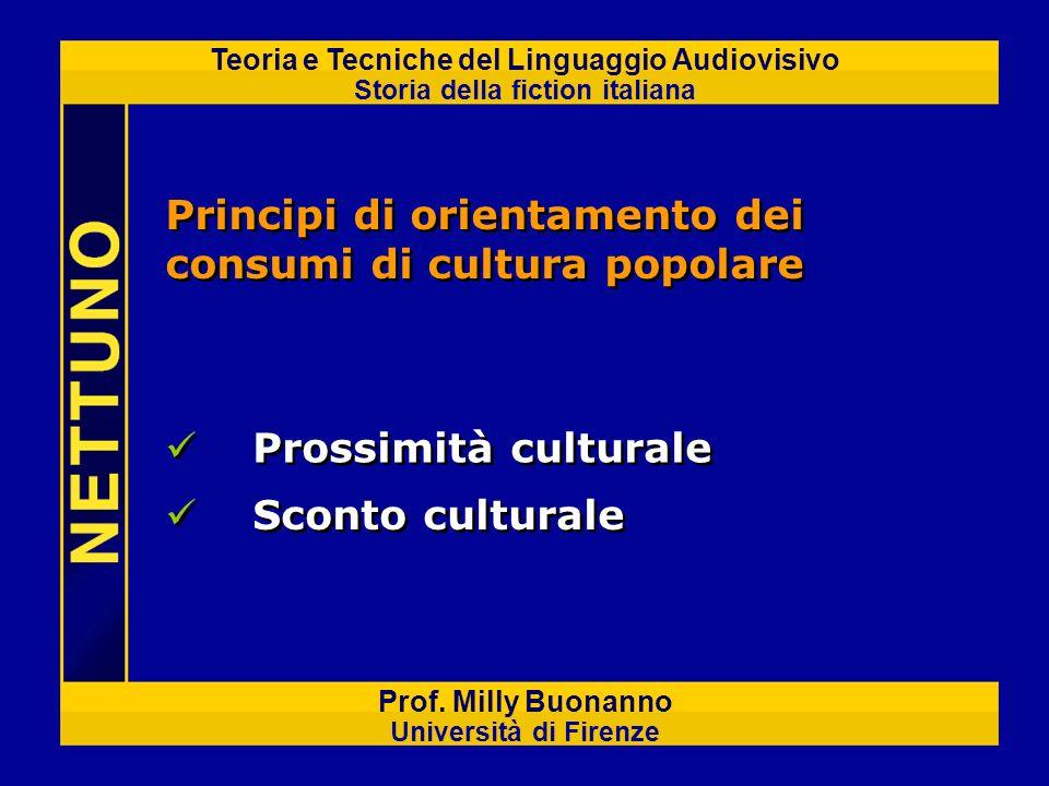 Principi di orientamento dei consumi di cultura popolare