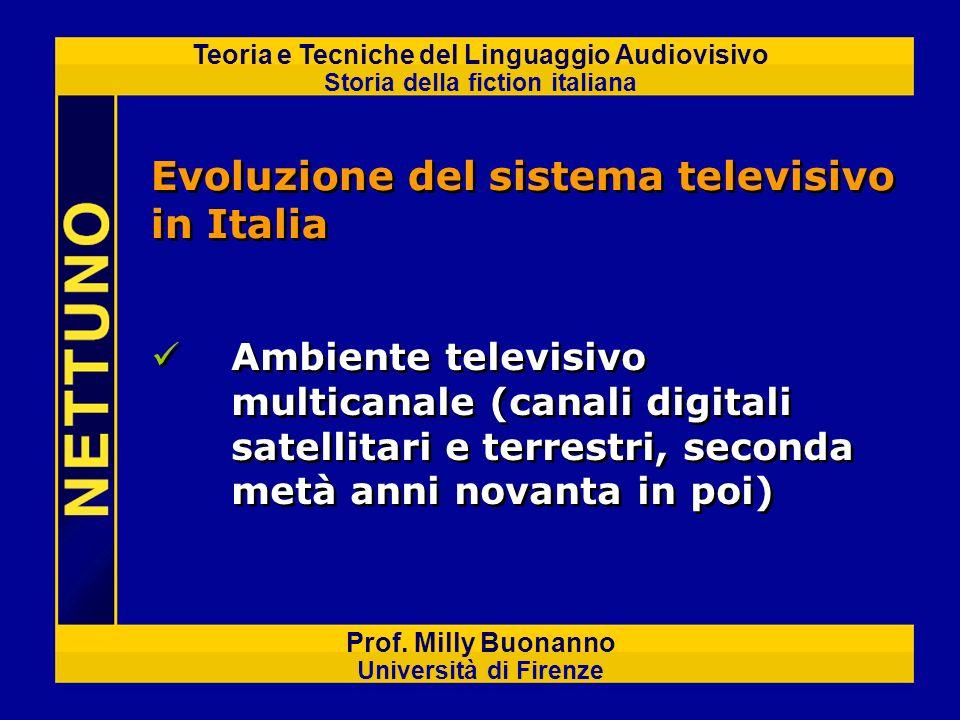 Evoluzione del sistema televisivo in Italia