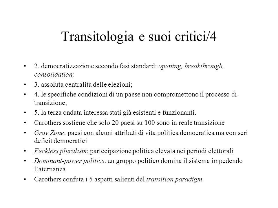 Transitologia e suoi critici/4