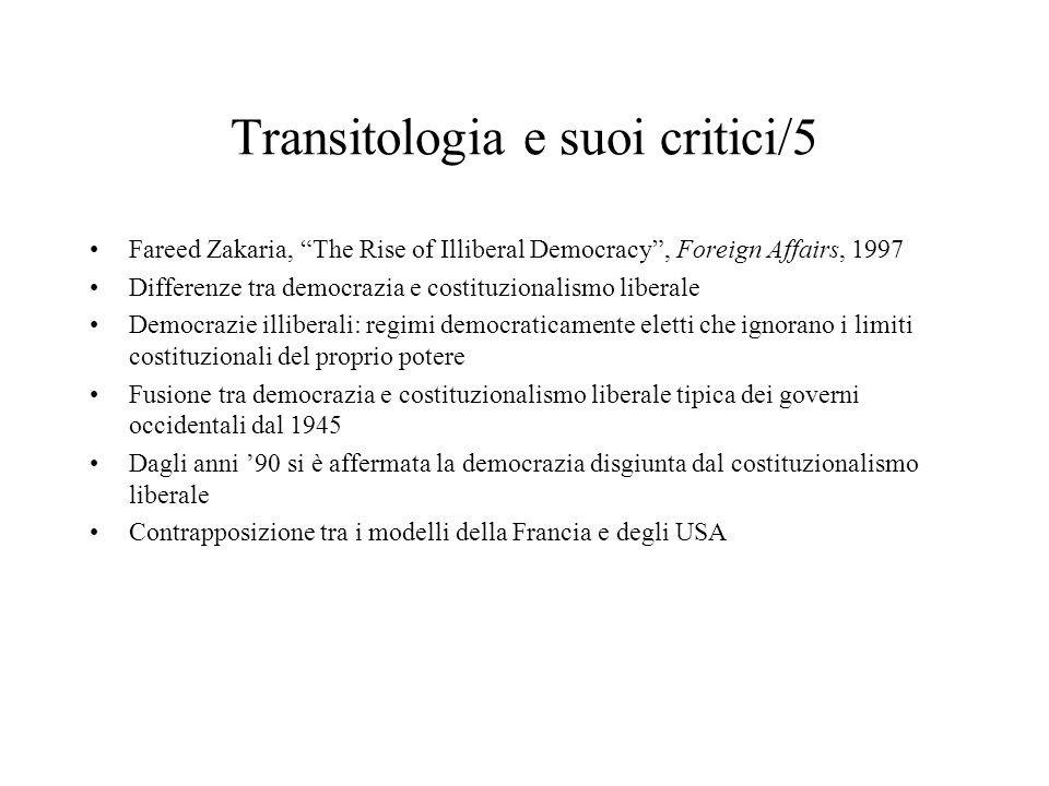 Transitologia e suoi critici/5
