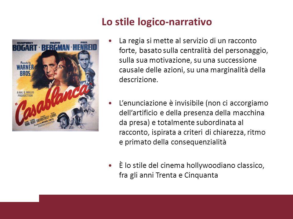 Lo stile logico-narrativo