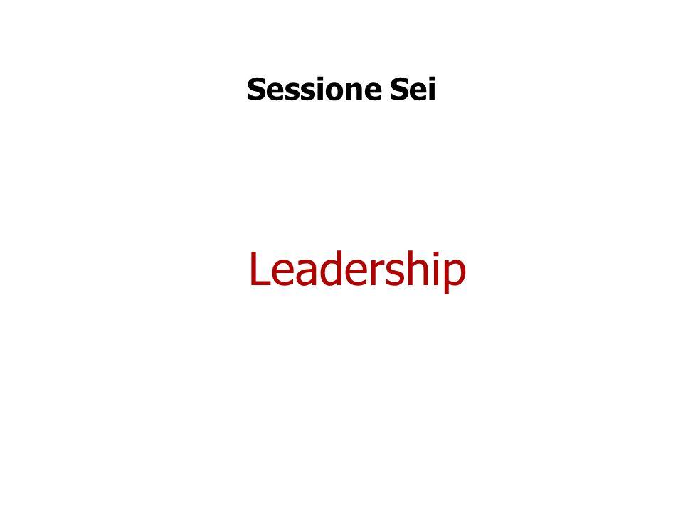 Sessione Sei Leadership