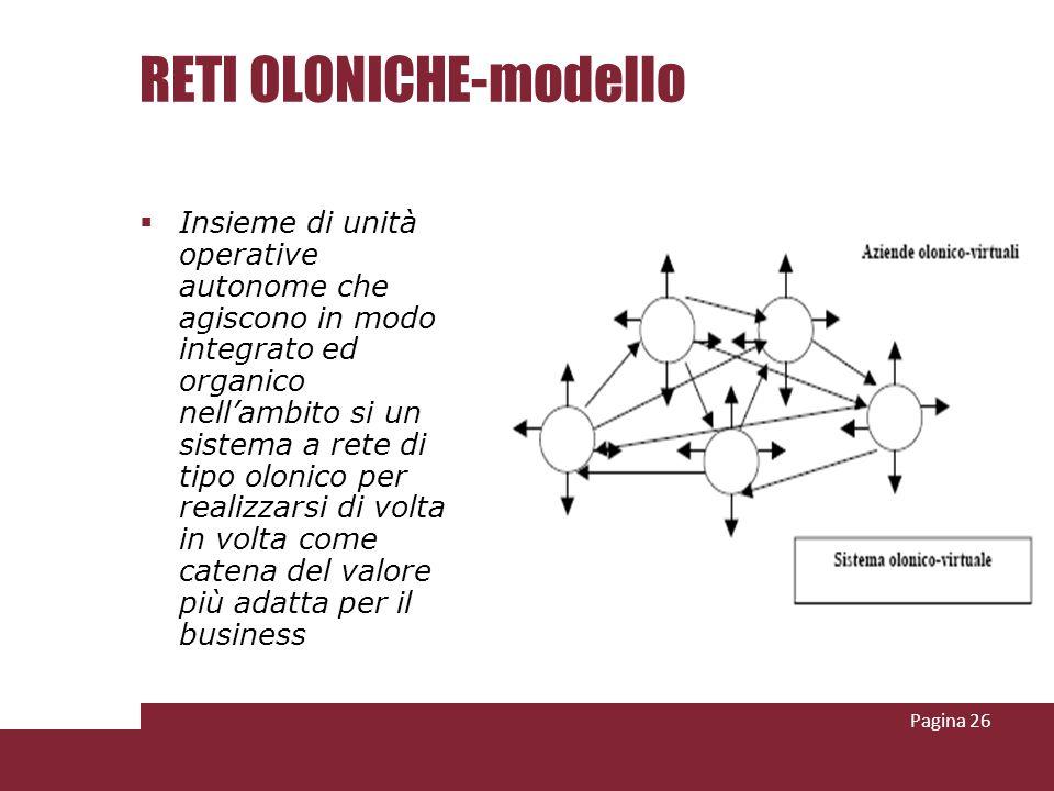 RETI OLONICHE-modello