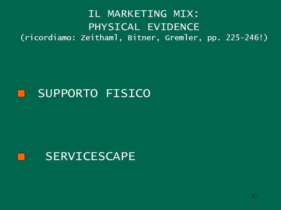 SUPPORTO FISICO SERVICESCAPE