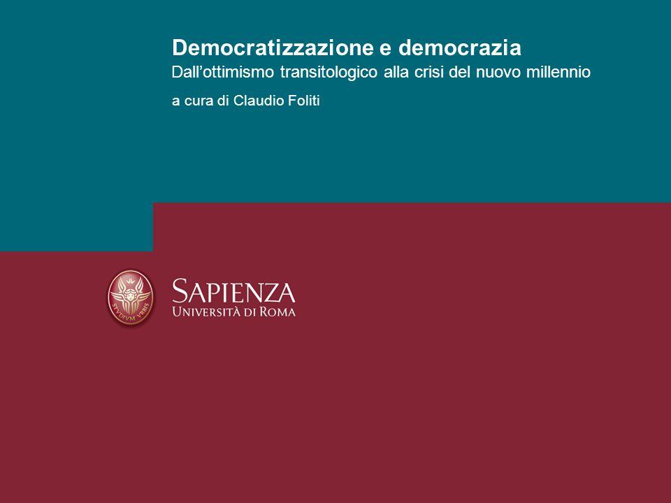 Democratizzazione e democrazia