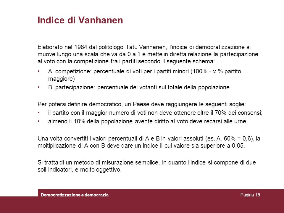 Indice di Vanhanen