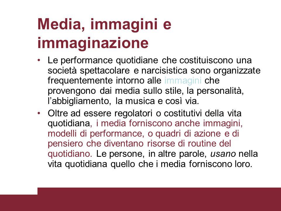 Media, immagini e immaginazione