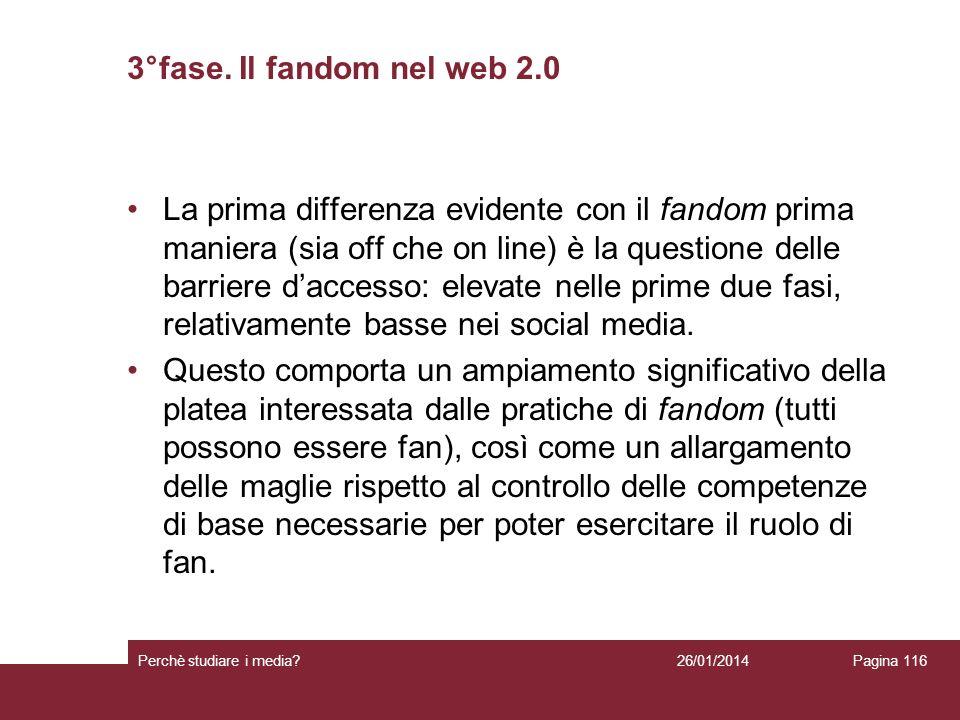 3°fase. Il fandom nel web 2.0