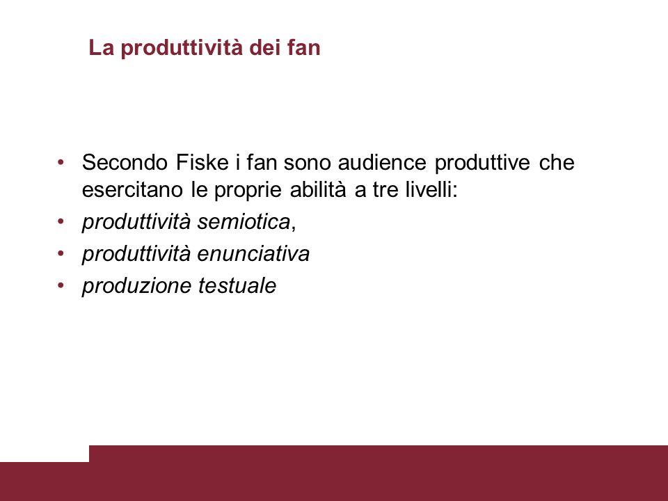 La produttività dei fan