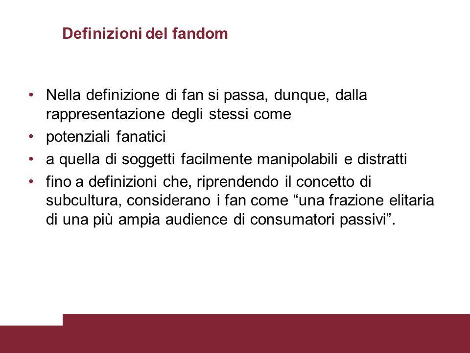 Definizioni del fandom