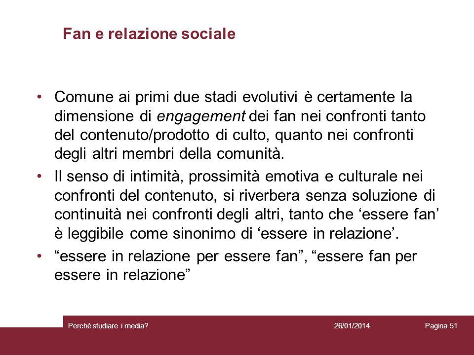 Fan e relazione sociale