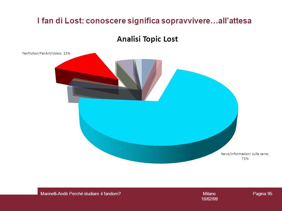 I fan di Lost: conoscere significa sopravvivere…all'attesa