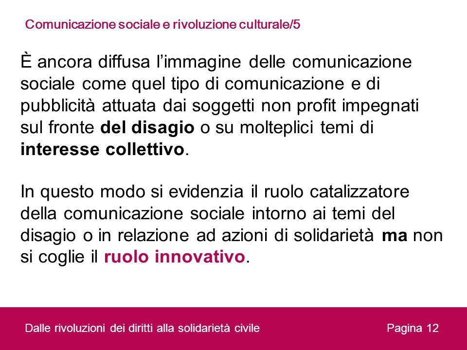Comunicazione sociale e rivoluzione culturale/5