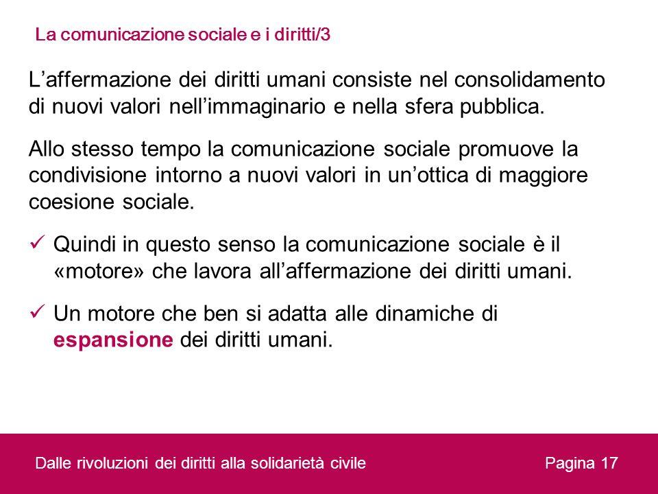 La comunicazione sociale e i diritti/3