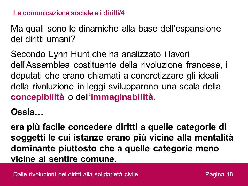 La comunicazione sociale e i diritti/4