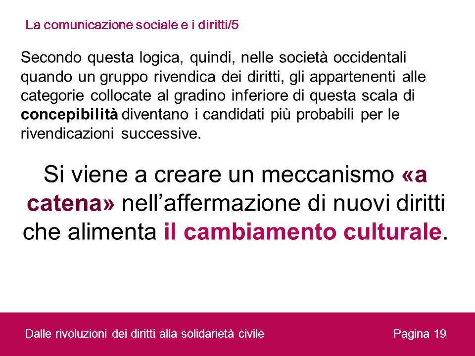 La comunicazione sociale e i diritti/5
