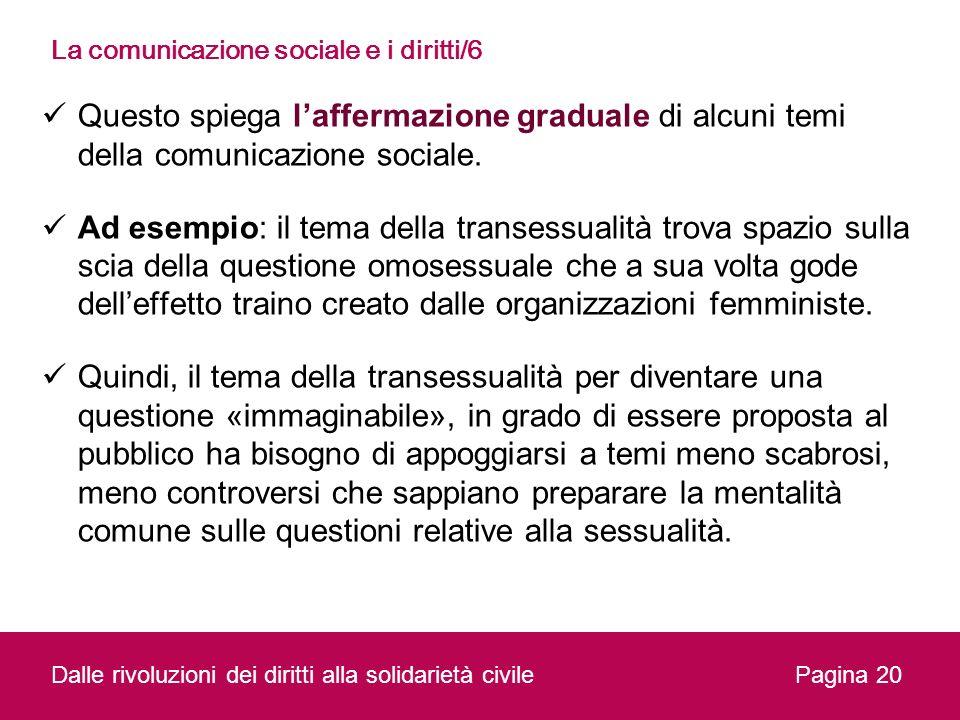 La comunicazione sociale e i diritti/6