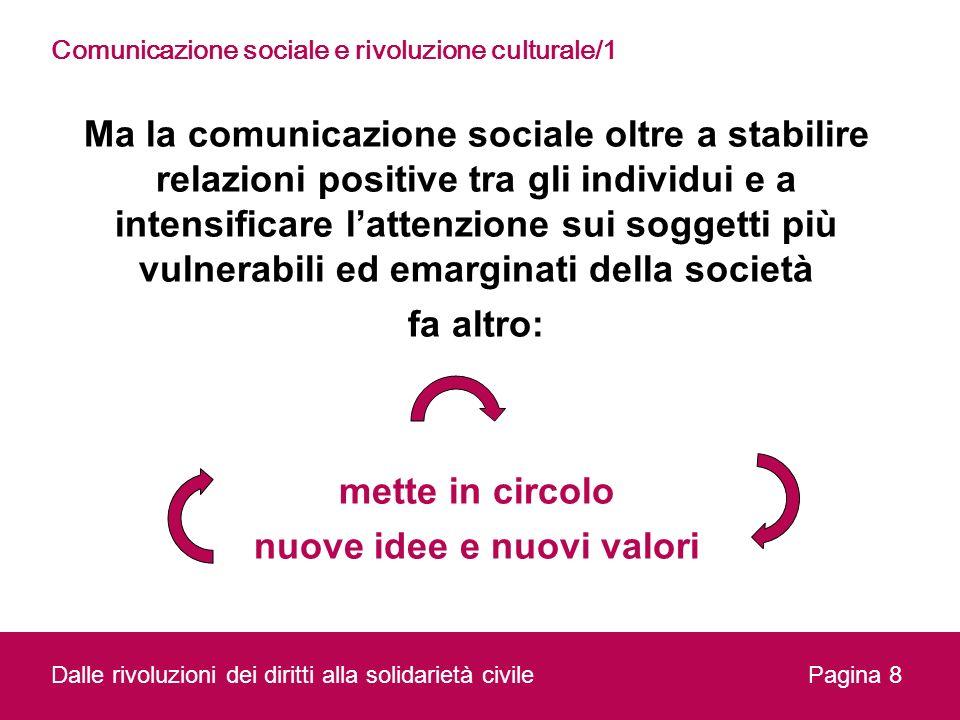 Comunicazione sociale e rivoluzione culturale/1
