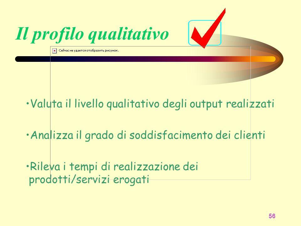 Il profilo qualitativo