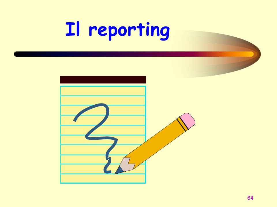 Il reporting 1 1