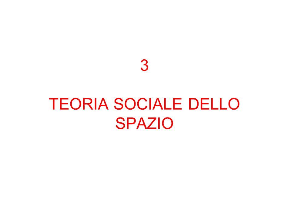 3 TEORIA SOCIALE DELLO SPAZIO