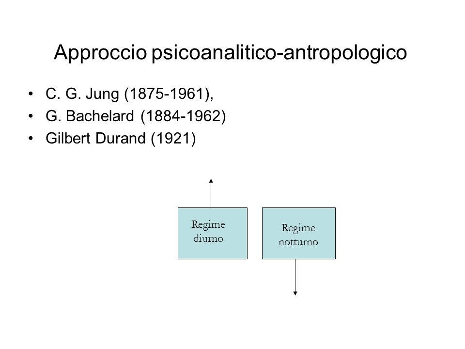Approccio psicoanalitico-antropologico