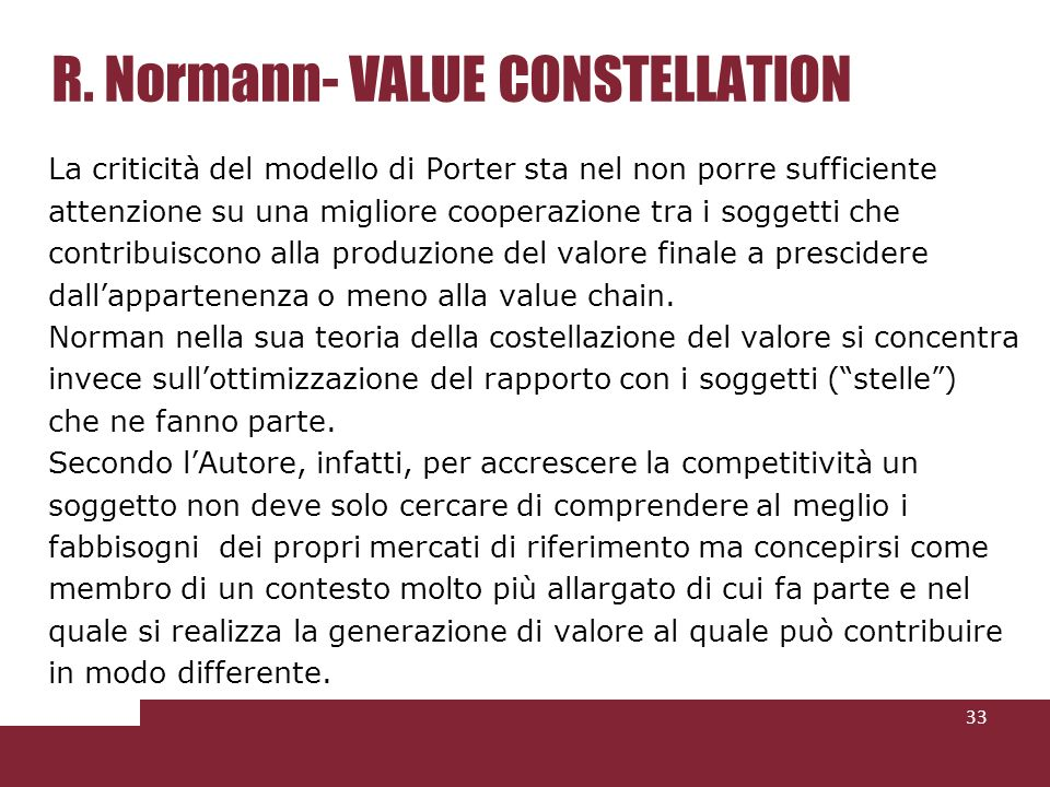 R. Normann- VALUE CONSTELLATION