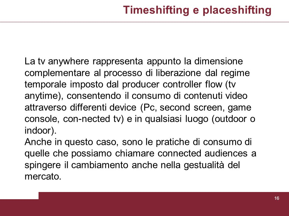 Timeshifting e placeshifting