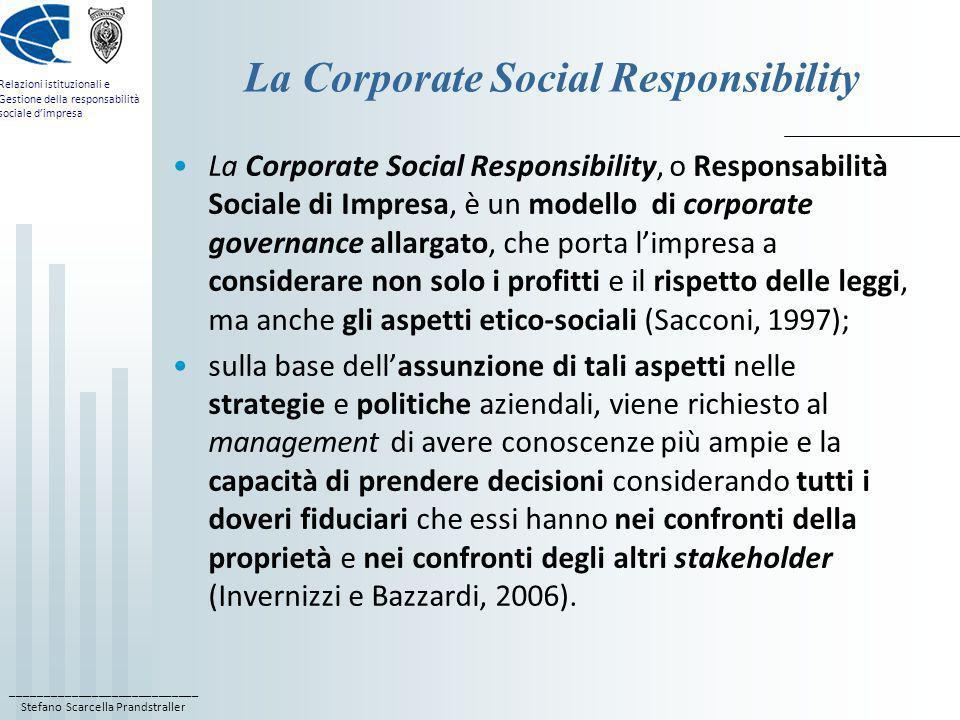 La Corporate Social Responsibility