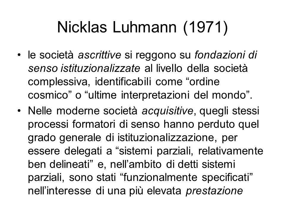 Nicklas Luhmann (1971)