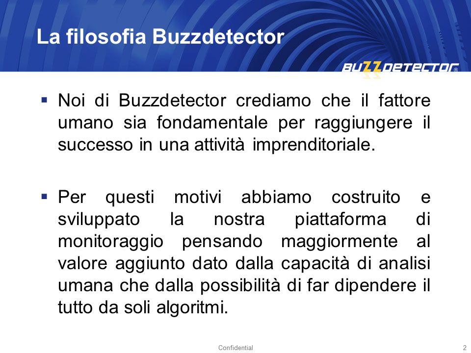 La filosofia Buzzdetector