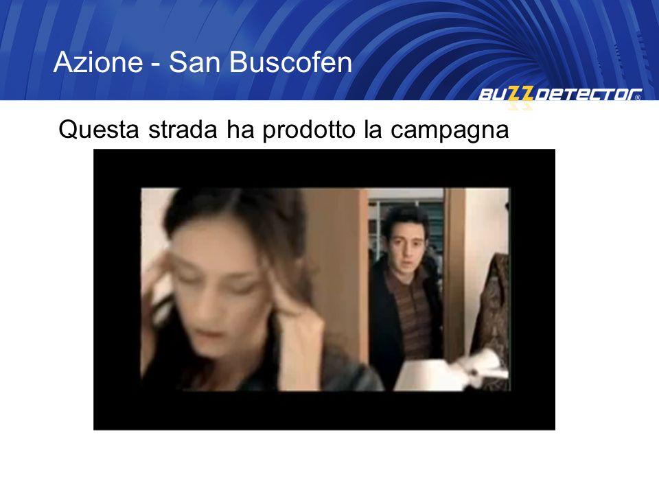 Azione - San Buscofen Questa strada ha prodotto la campagna