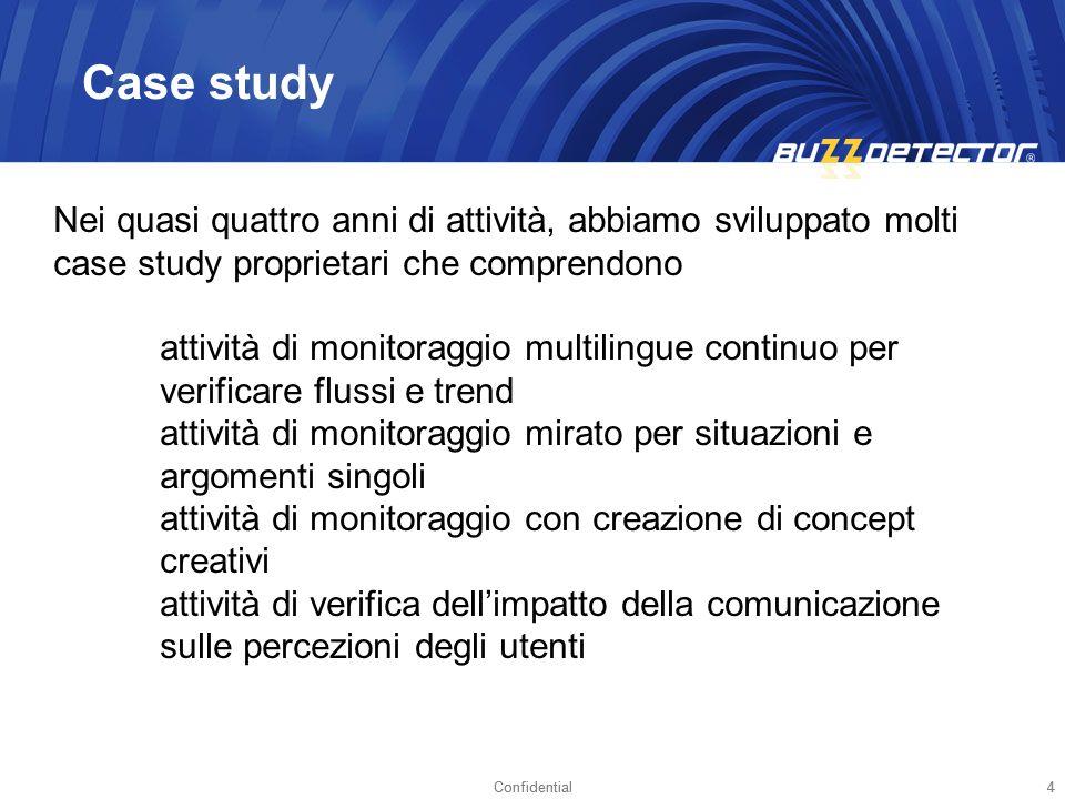 Case study Nei quasi quattro anni di attività, abbiamo sviluppato molti case study proprietari che comprendono.