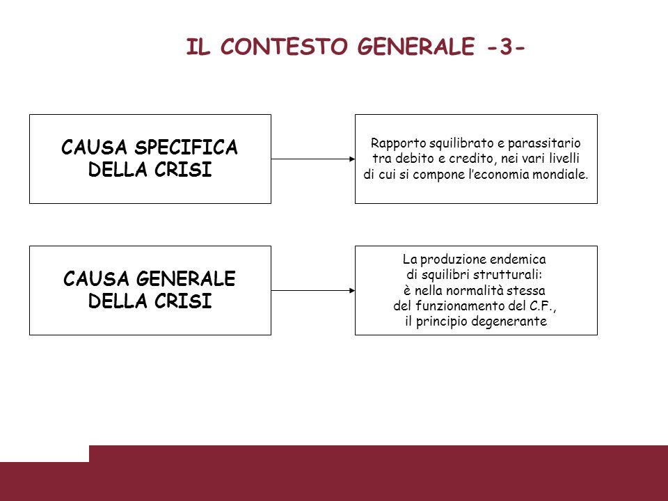 IL CONTESTO GENERALE -3-