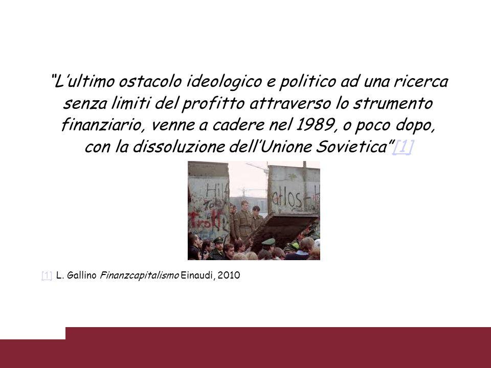 L'ultimo ostacolo ideologico e politico ad una ricerca